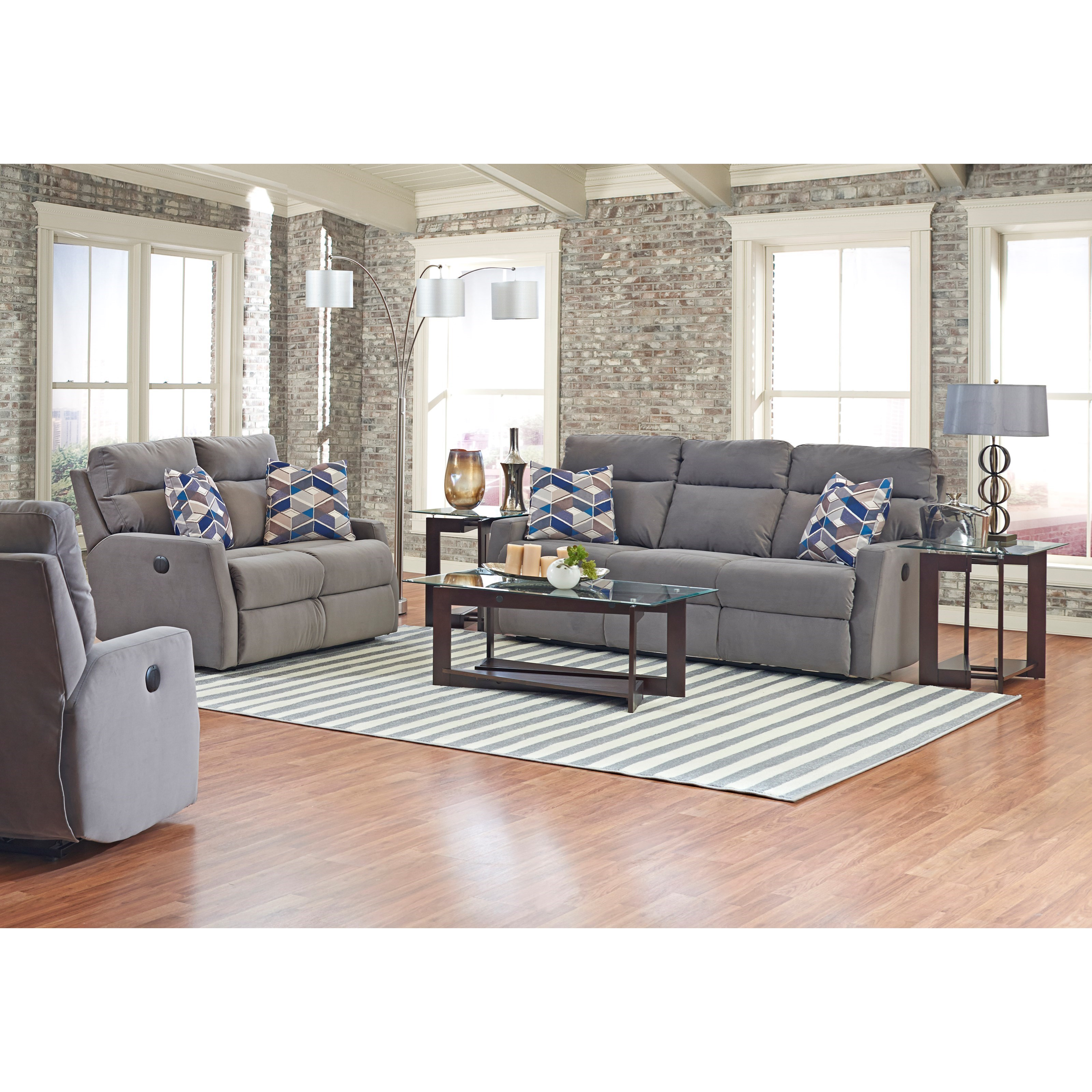 Daphne Power Reclining Living Room Group by Klaussner at Northeast Factory Direct