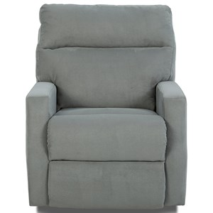 Gliding Reclining Chair with Soft Track Arms