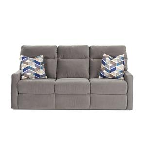 Klaussner Daphne Reclining Sofa w/ Pillows