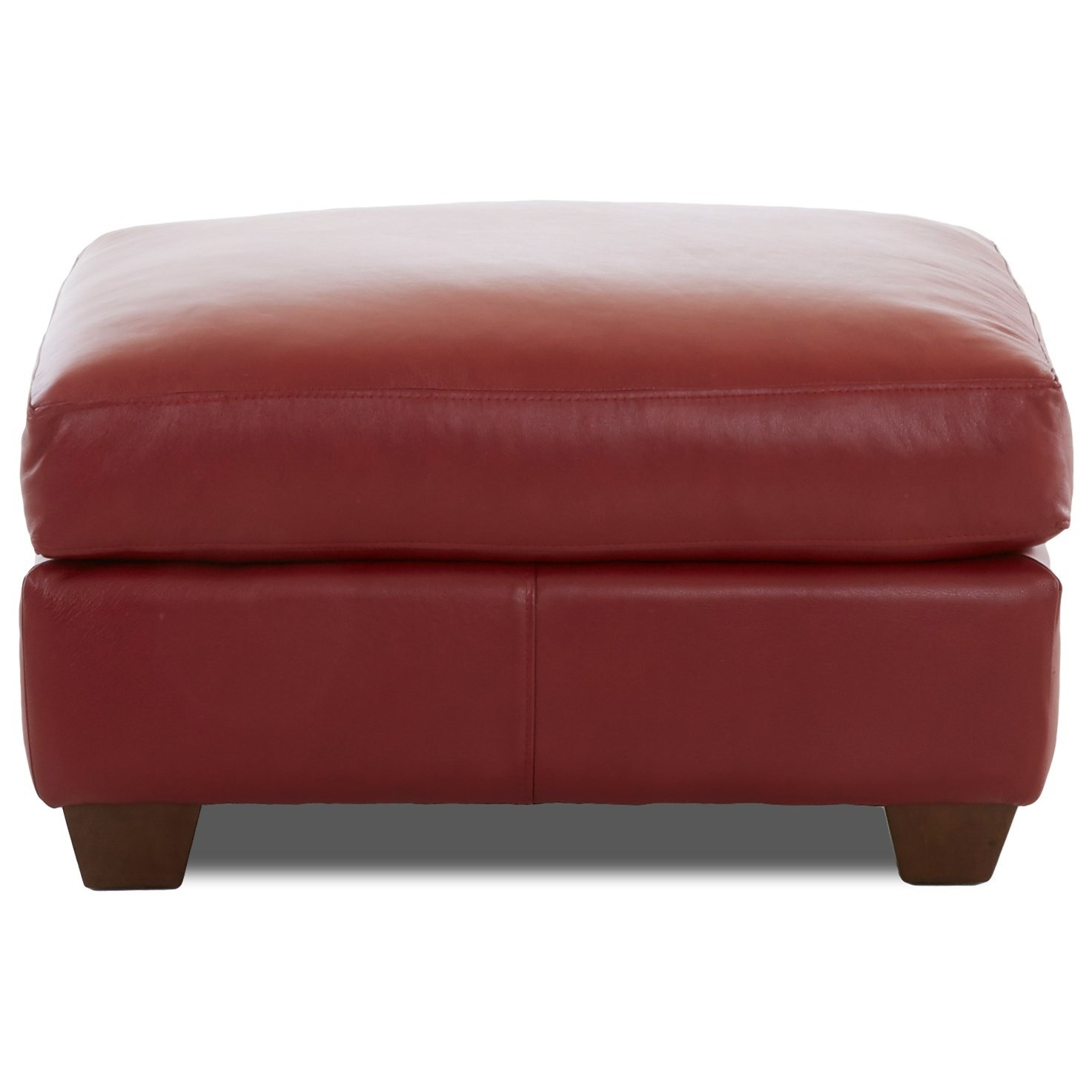 Moorland Ottoman by Klaussner at Northeast Factory Direct