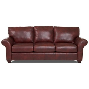 Casual Leather Sofa