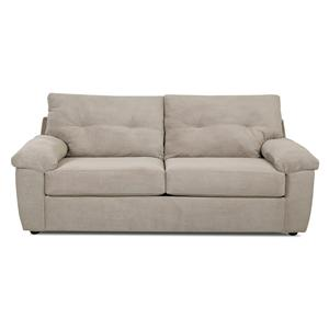 Klaussner Newton Casual Stationary Sofa