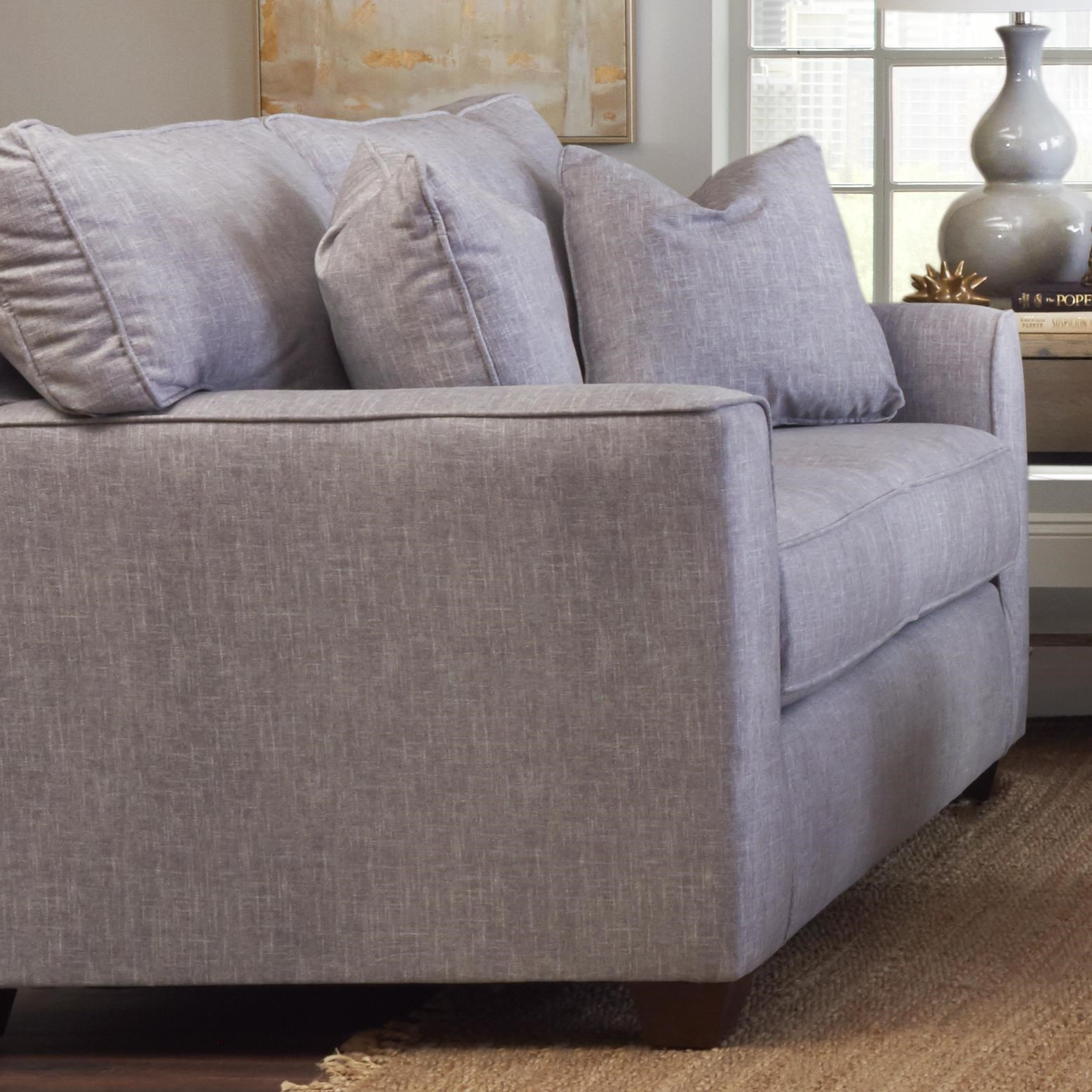 Nolan Loveseat by Klaussner at Northeast Factory Direct