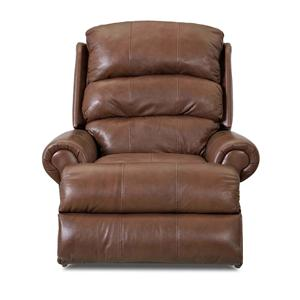 Klaussner Norman Transitional Swivel Glider Reclining Chair