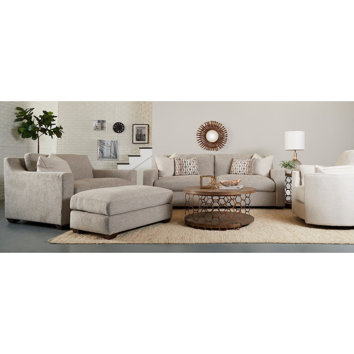 Novato Living Room Group by Klaussner at Northeast Factory Direct