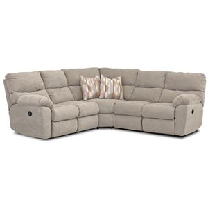 Klaussner Odessa Power Reclining Sectional