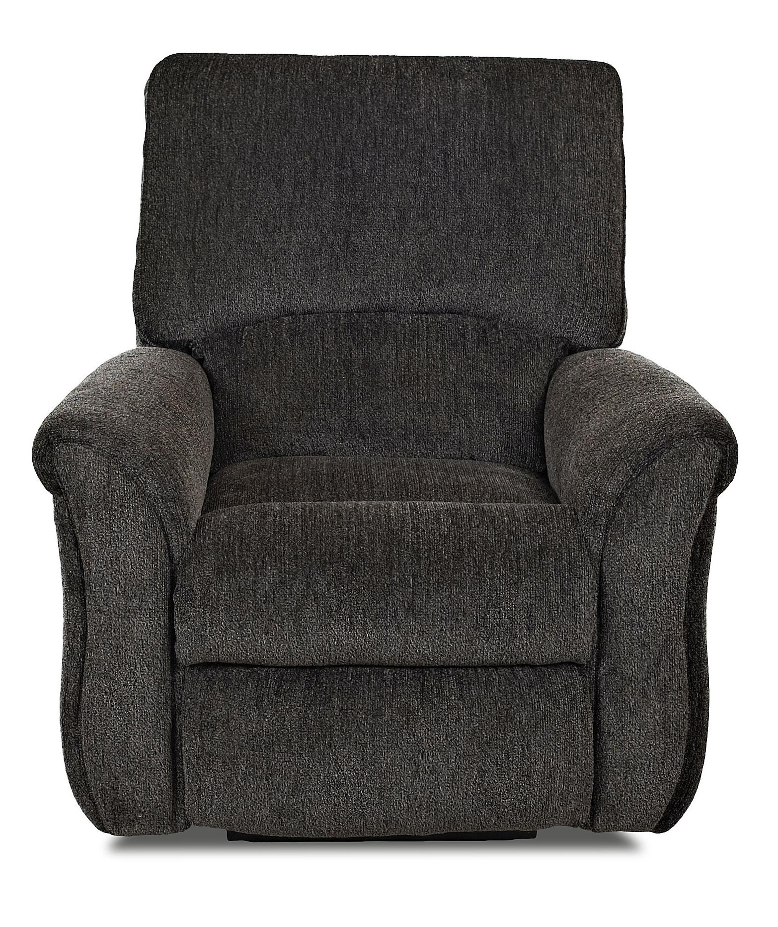 Olson Transitional Gliding Reclining Chair by Klaussner at Lapeer Furniture & Mattress Center