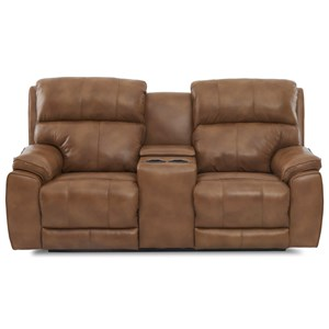 Power Reclining Loveseat with Cupholder Storage Console and USB Ports