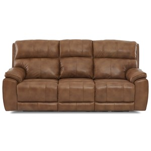 Power Reclining Sofa with Power Head/Lumbar and USB Charging Ports