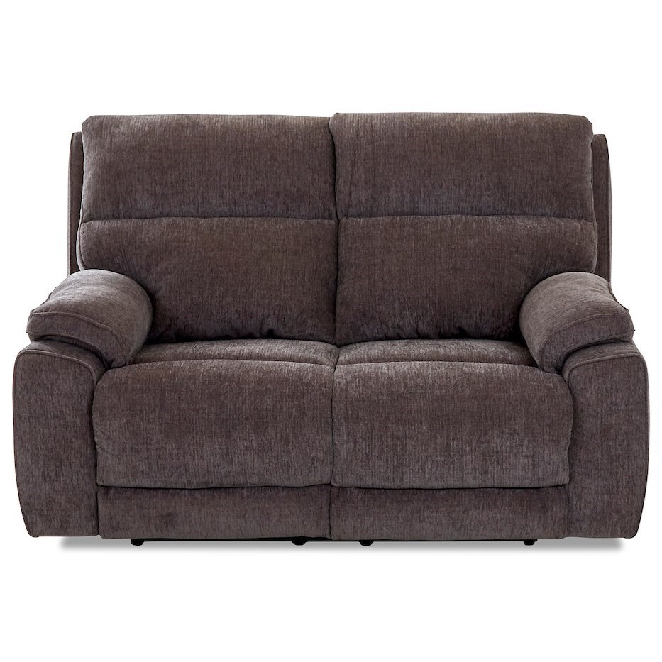 Omaha Power Reclining Loveseat by Klaussner at Northeast Factory Direct