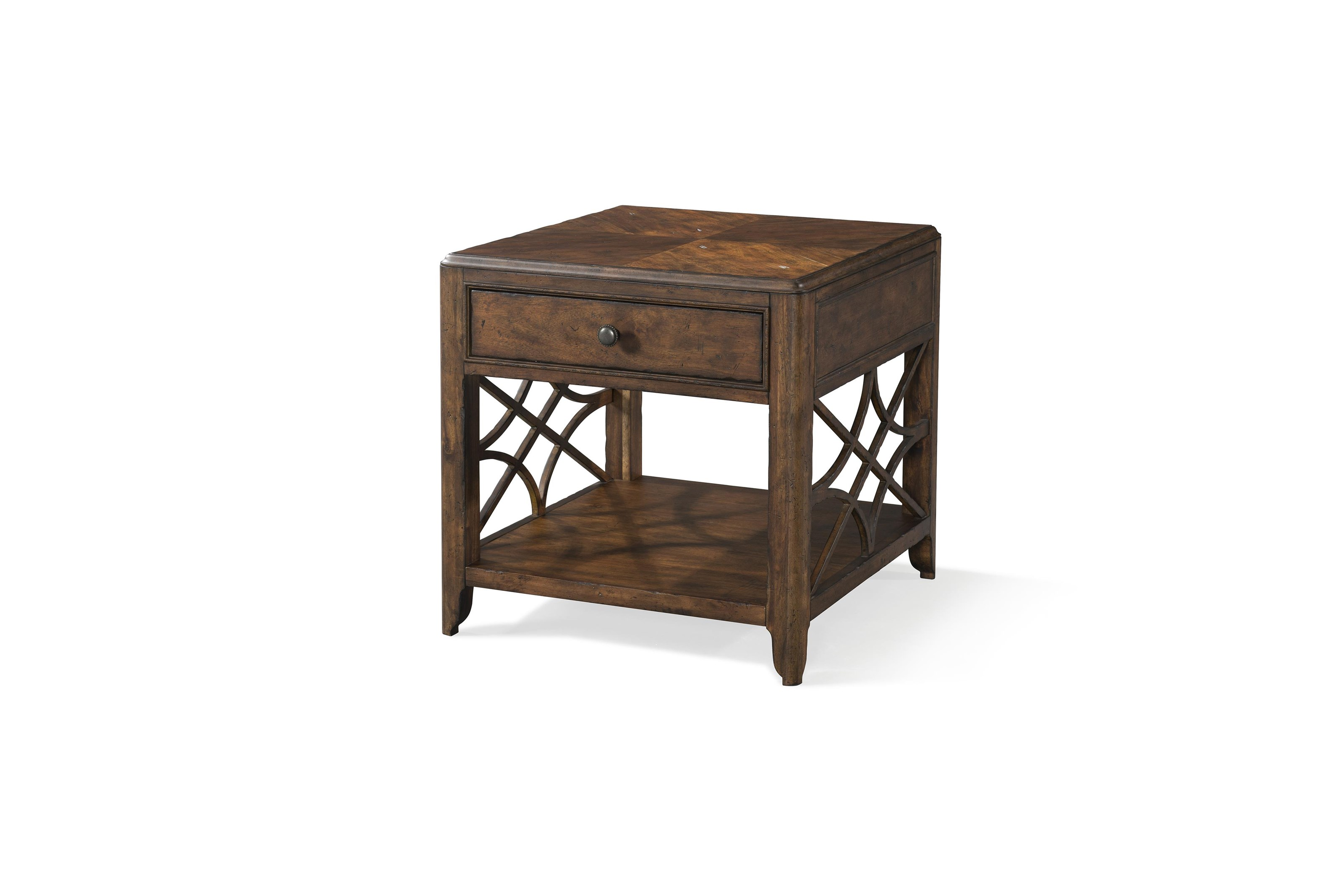 Oneida Oneida Drawer End Table by Klaussner at Morris Home