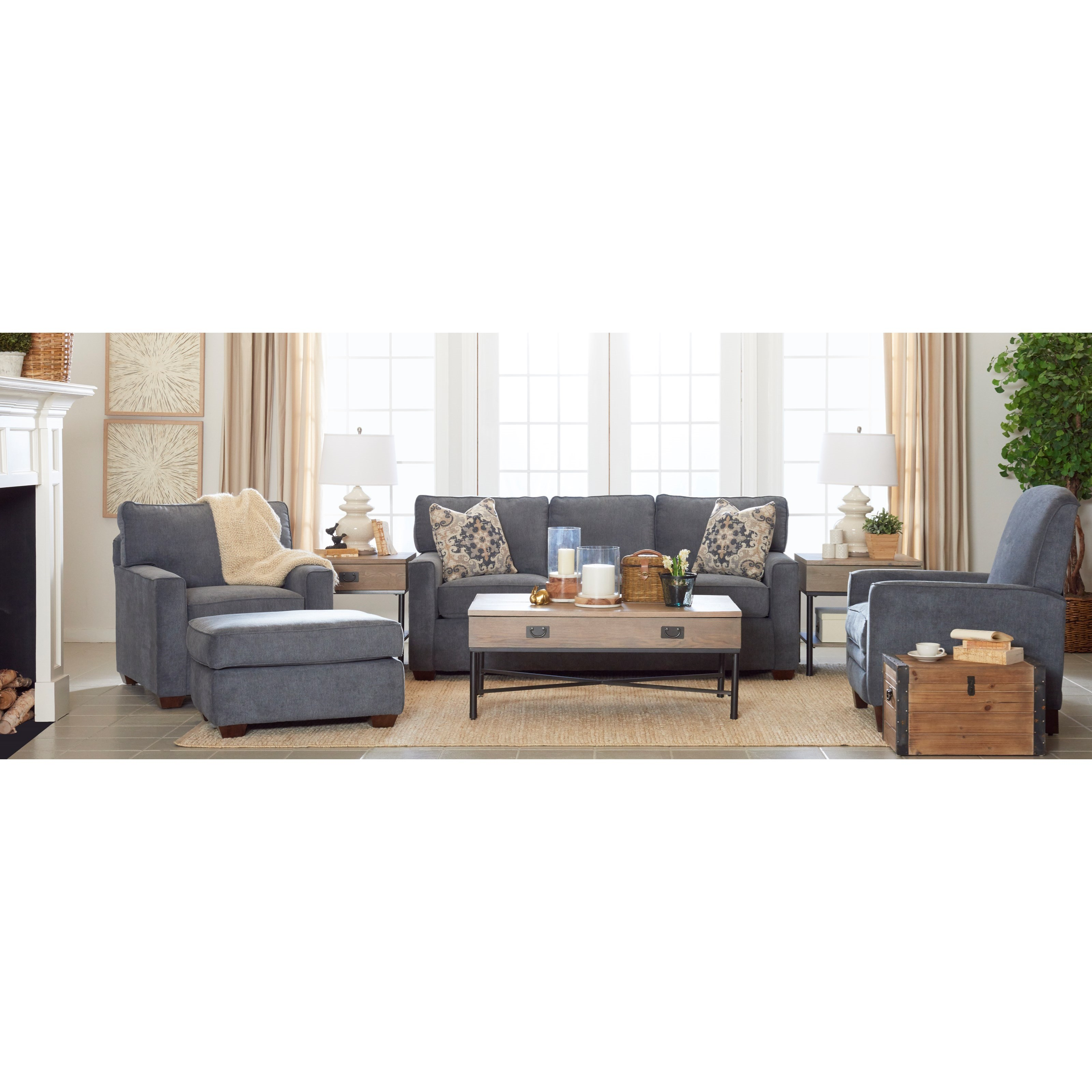 Pantego Living Room Group by Klaussner at Northeast Factory Direct