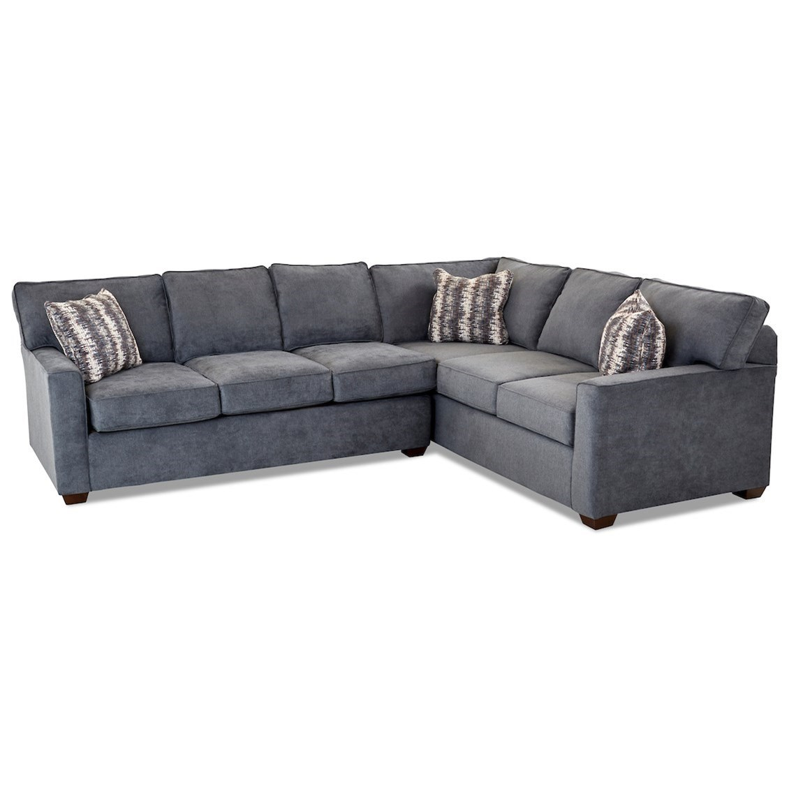 Pantego 2 Piece Sectional Sofa w/ RAF Corner by Klaussner at Johnny Janosik