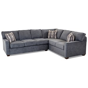 2 Piece Sectional Sofa w/ RAF Corner
