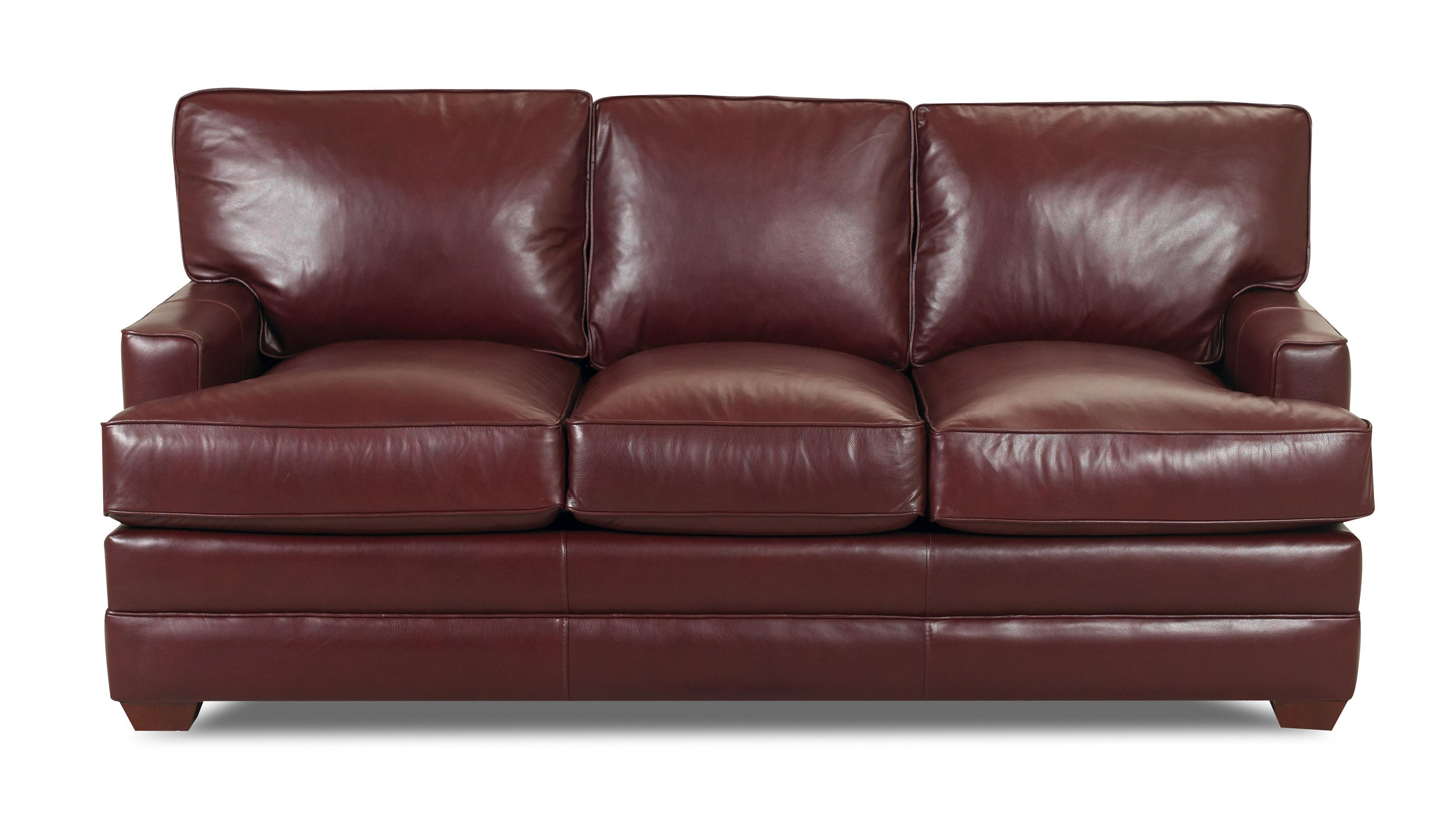 Pantego 3-Seater Stationary Sofa by Klaussner at Lapeer Furniture & Mattress Center