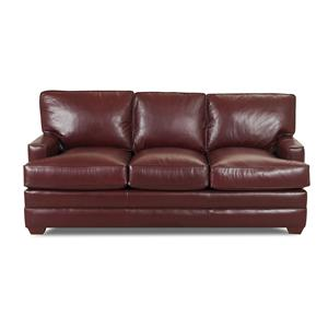 Innerspring Sleeper Sofa with Low Profile Track Arms
