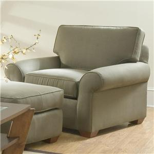 Klaussner Patterns Upholstered Chair