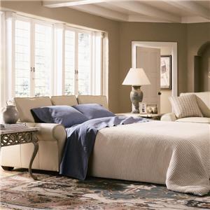 Klaussner Patterns Innerspring Queen Sleeper Sofa