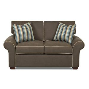 Klaussner Patterns Loveseat
