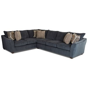 Two Piece Sectional Sofa with Left Corner Sofa