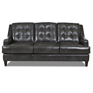 Klaussner Pinson Contemporary Stationary Sofa