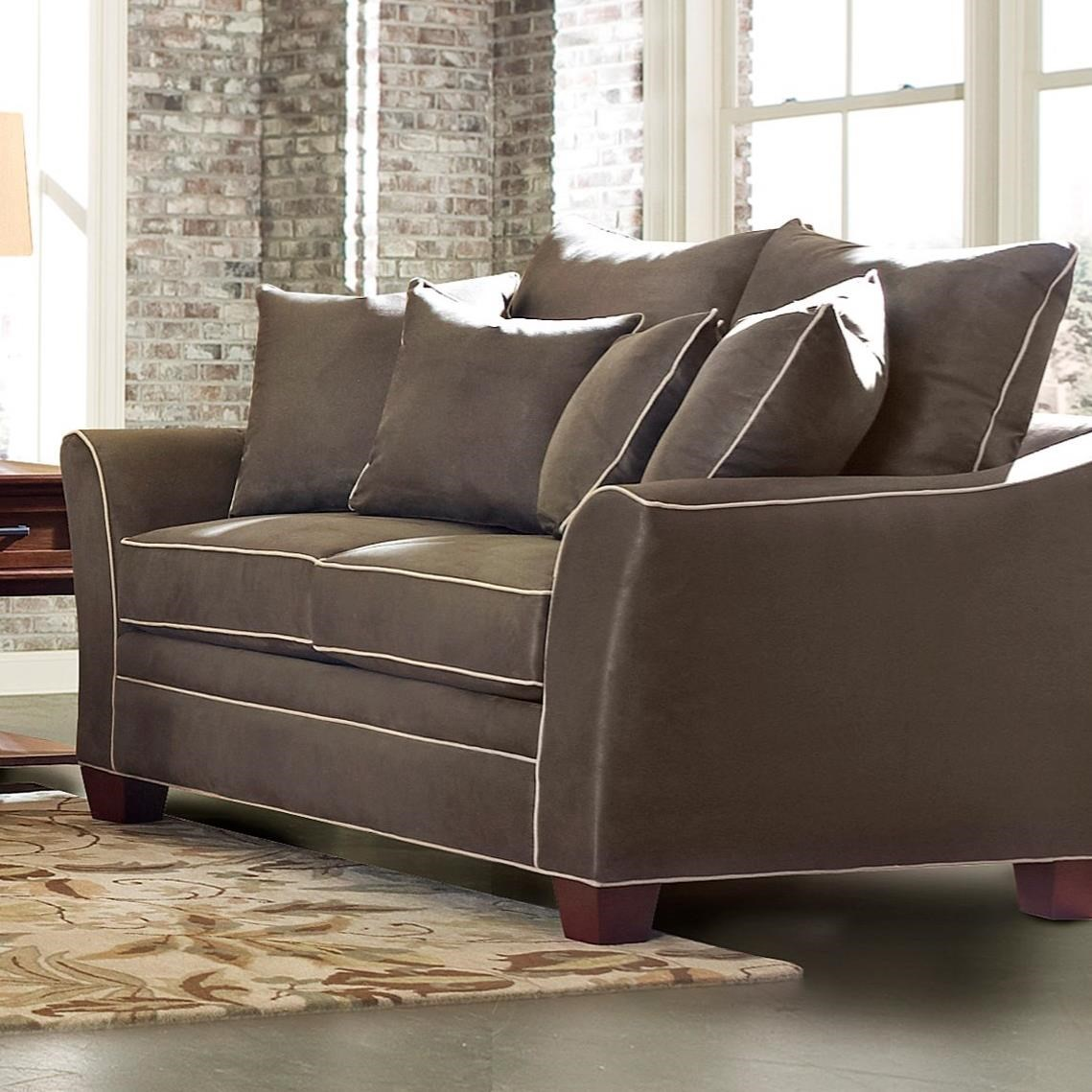 Posen Loveseat by Klaussner at Northeast Factory Direct