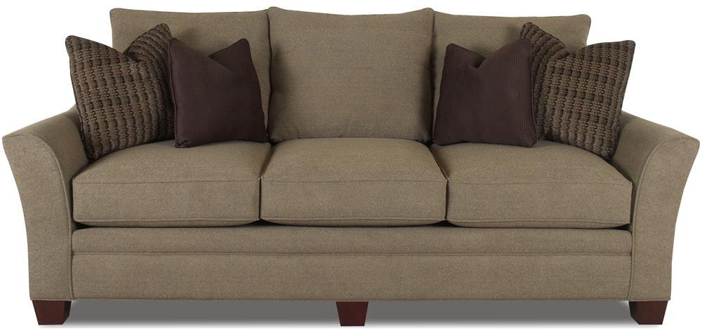 Posen Stationary Contemporary Sofa by Klaussner at Johnny Janosik