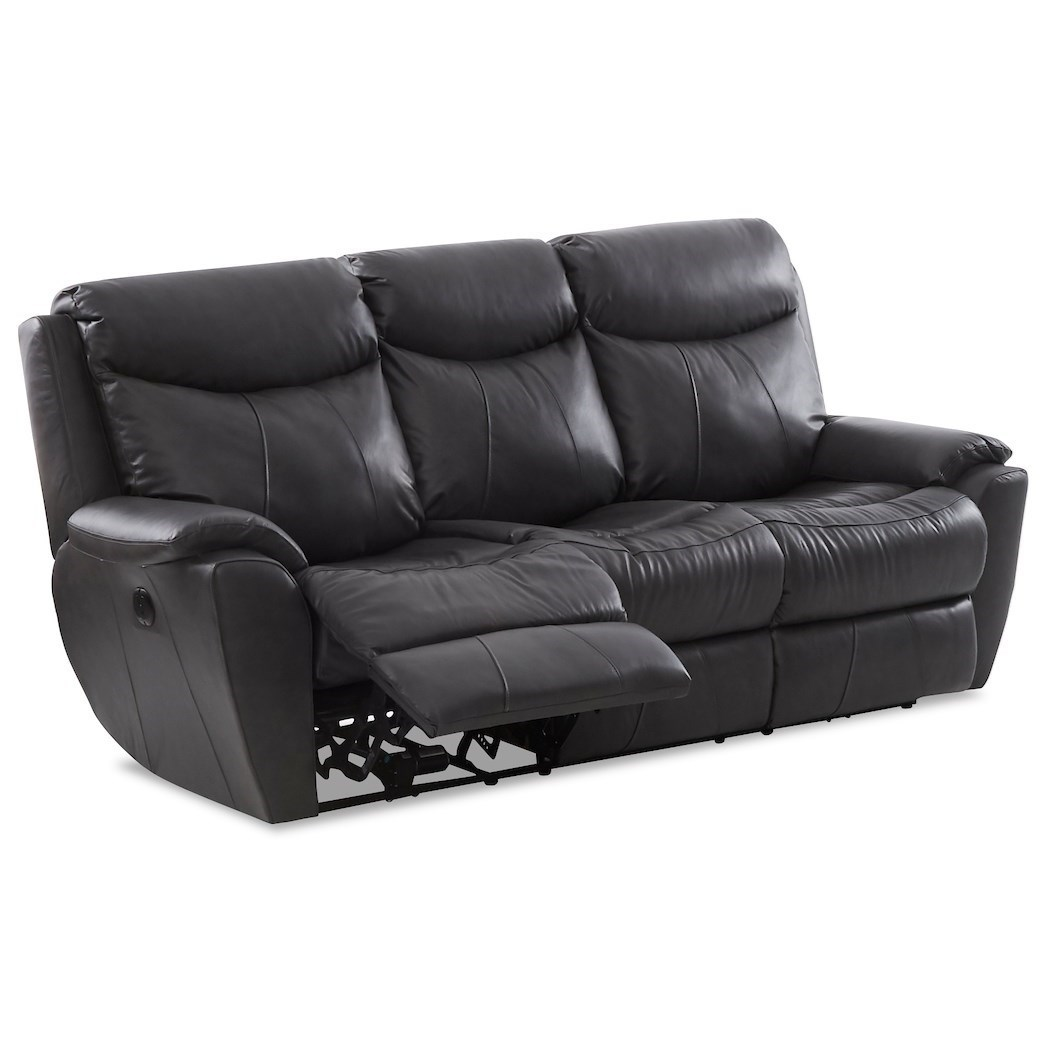 Proximo Power Reclining Sofa w/ Pwr Headrests by Klaussner at Northeast Factory Direct