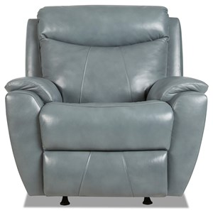 Casual Power Reclining Chair with Power Headrest / Lumbar and USB Port