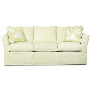 Casual Flare Armed Sofa