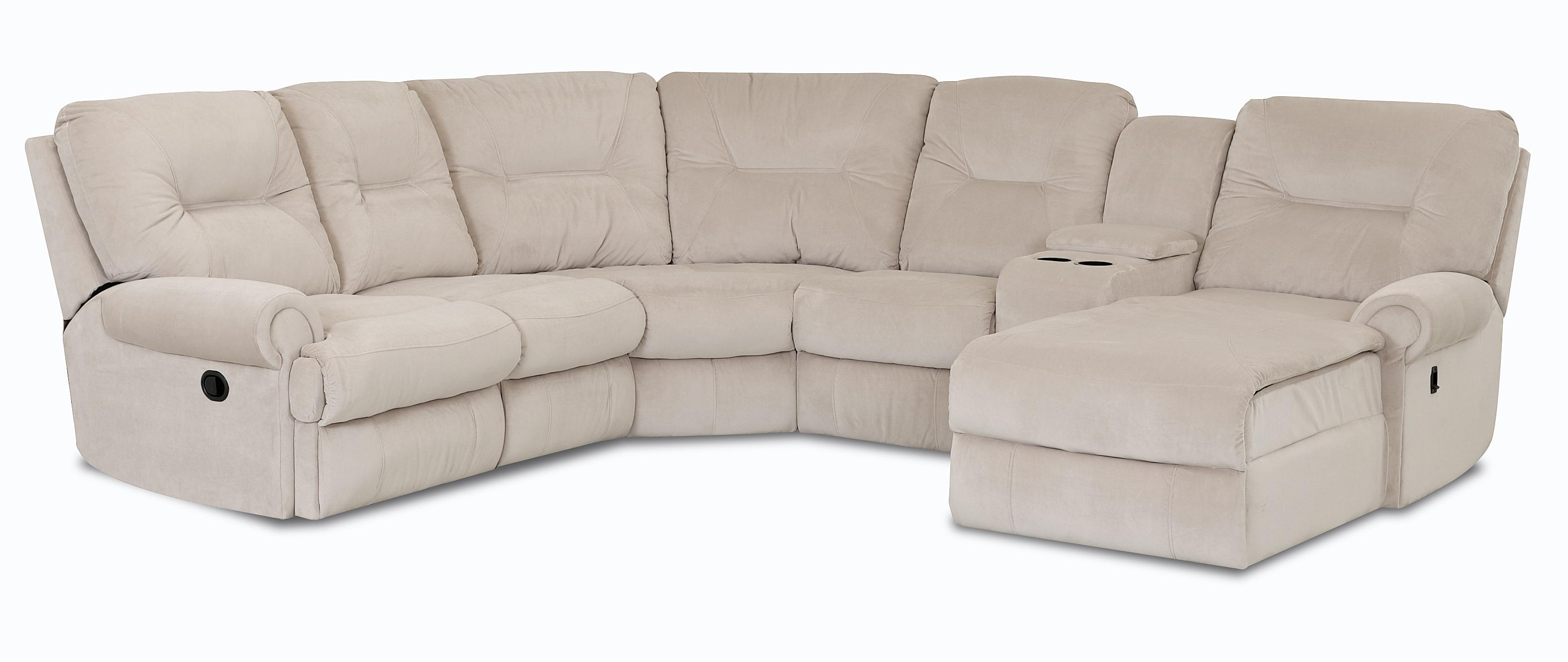 Roadster Traditional Reclining Sectional Sofa by Klaussner at Johnny Janosik