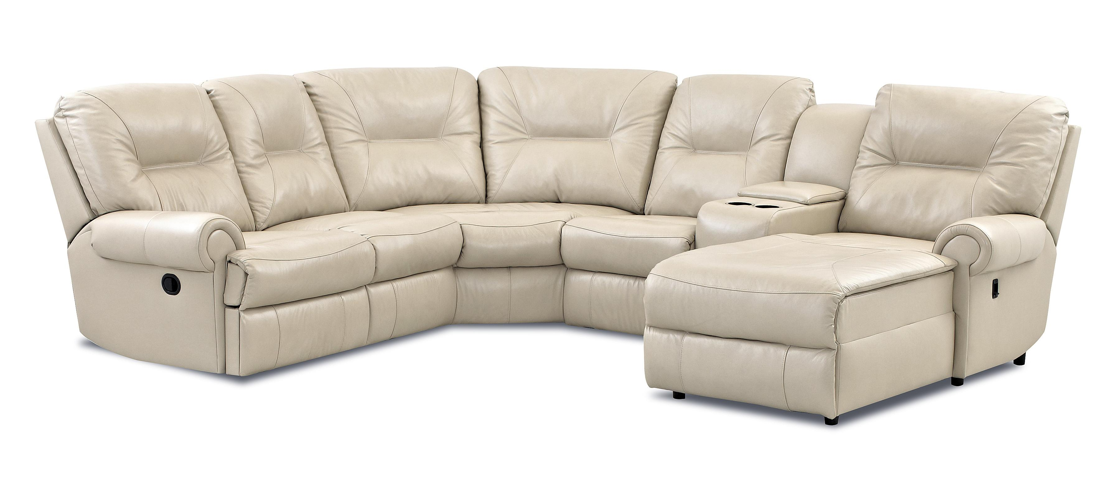 Roadster Traditional Reclining Sectional Sofa by Klaussner at Van Hill Furniture