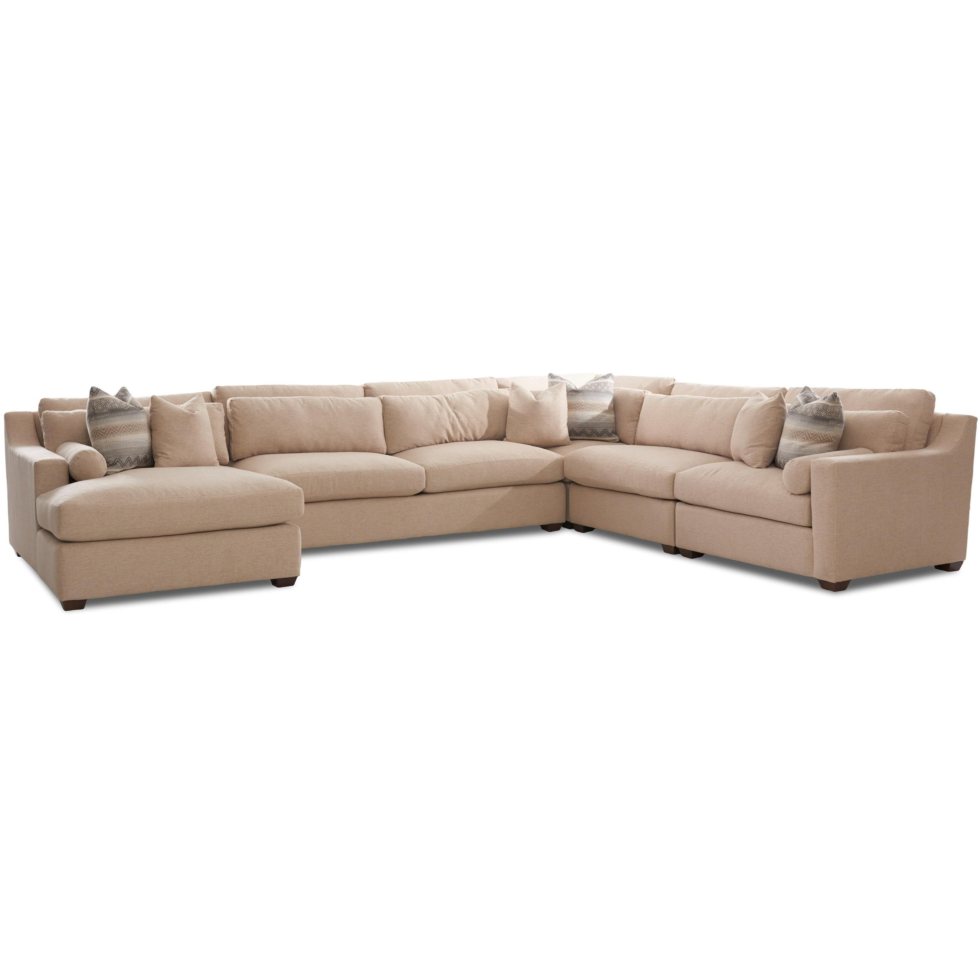 Roan Sofa Sectional by Klaussner at Northeast Factory Direct
