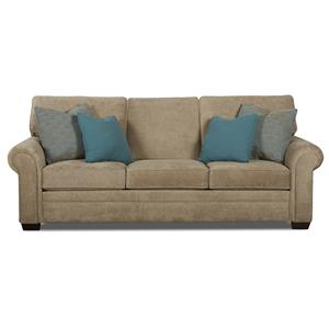 Klaussner Ronaldo Traditional Dreamquest Queen Sleeper Sofa