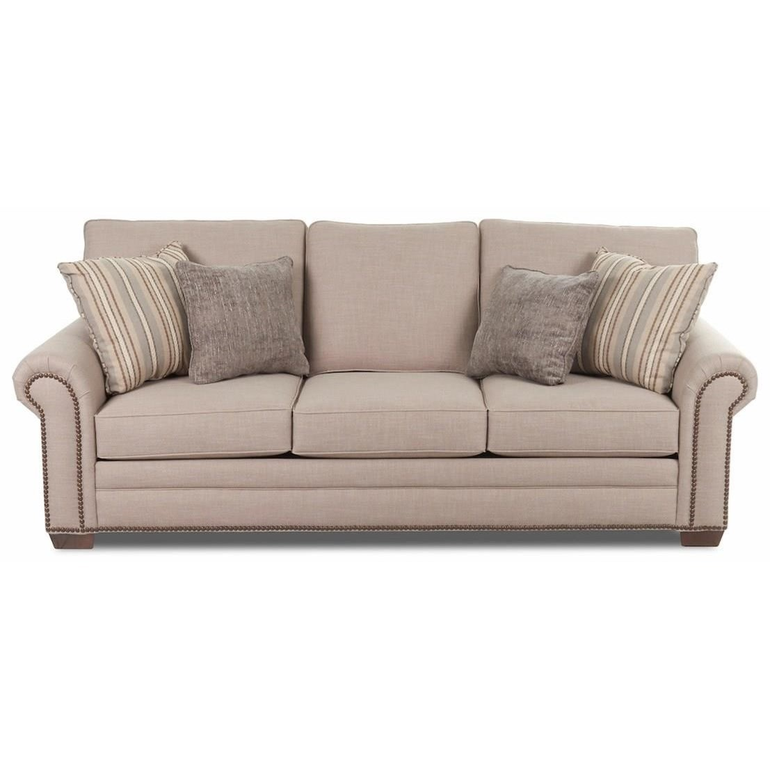 Ronaldo Sofa by Klaussner at Northeast Factory Direct