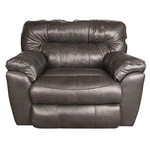 Ronna Leather-Match Power Big Chair