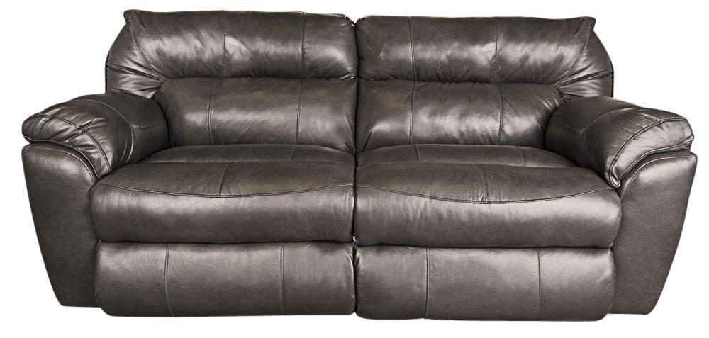 Ronna Leather Match Power Sofa
