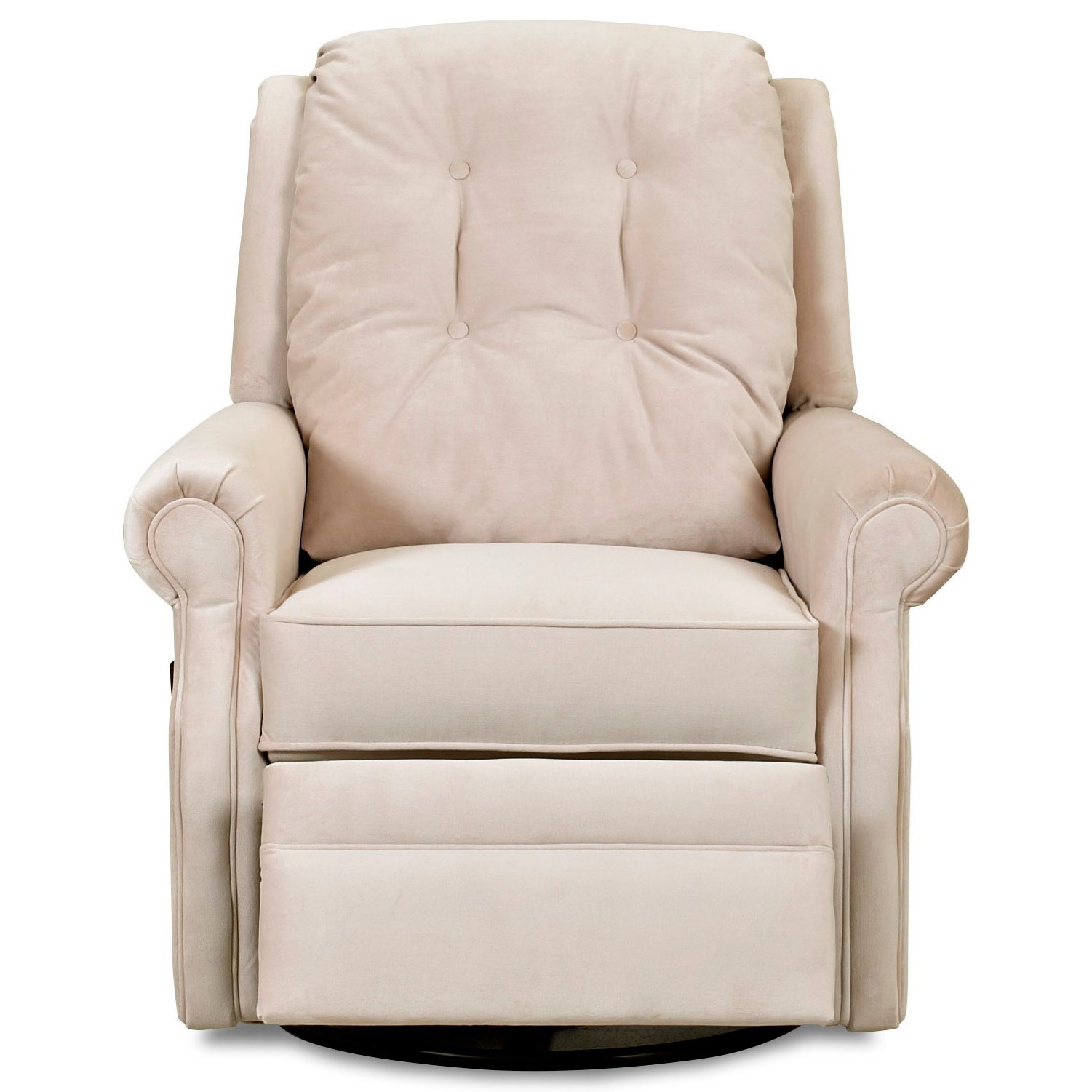 Sand Key Manual Swivel Gliding Reclining Chair by Klaussner at Northeast Factory Direct