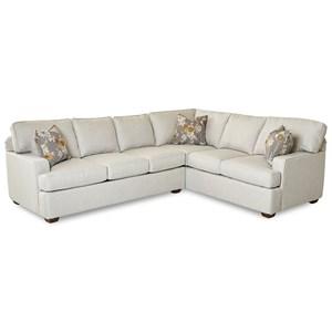2-Piece Sectional Sofa w/ LAF Sofa