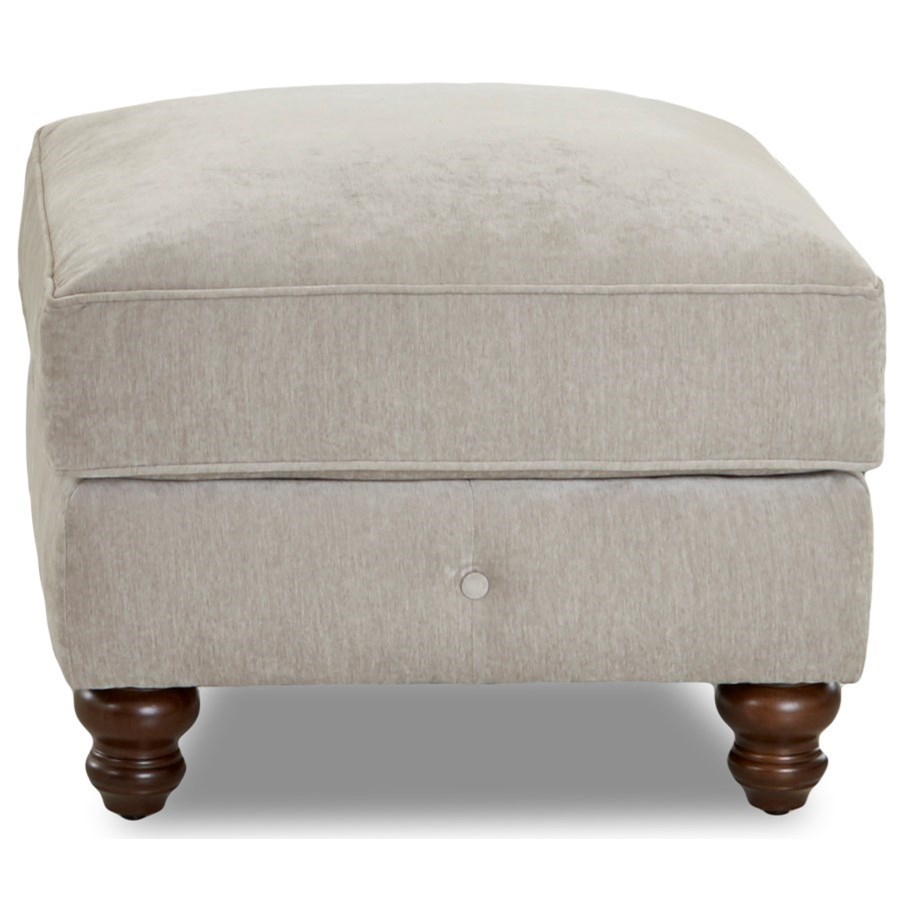 Shelby Ottoman by Klaussner at Johnny Janosik