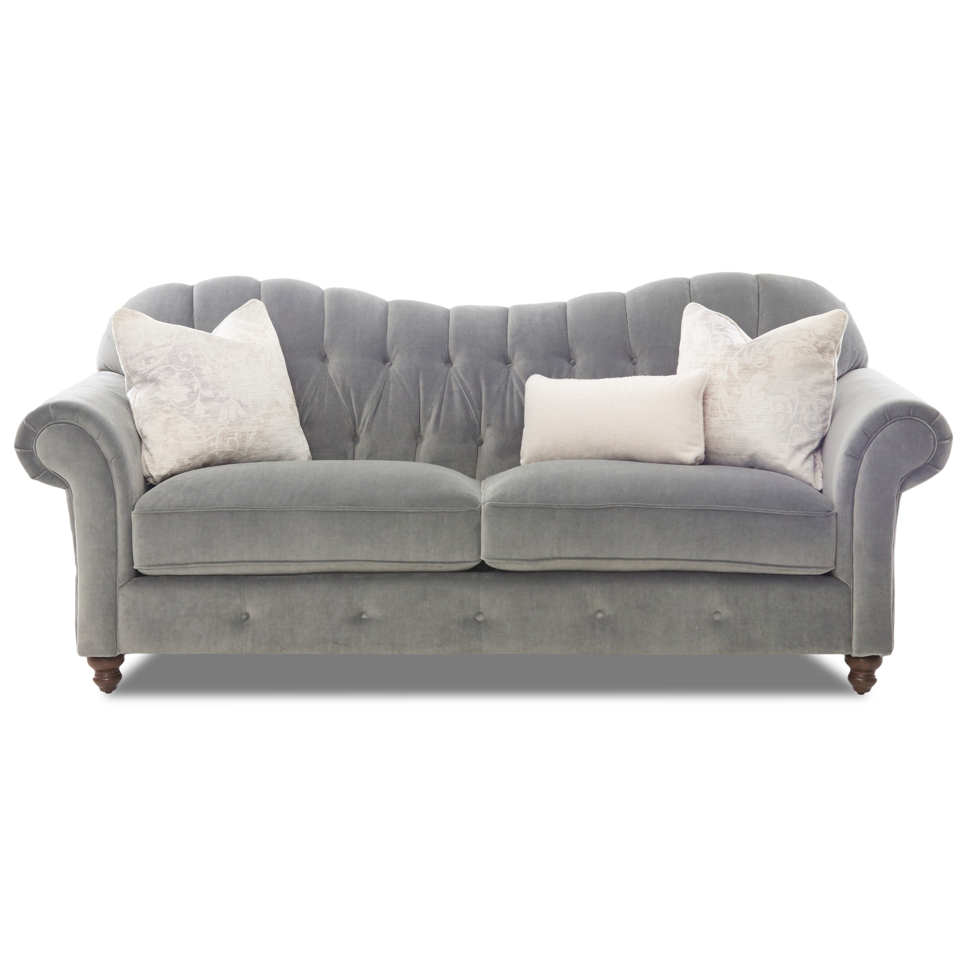 Shelby Sofa (no nails) by Klaussner at Northeast Factory Direct