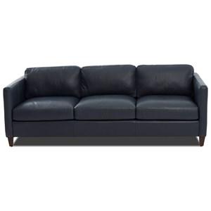 """Contemporary 90"""" Tuxedo Sofa"""