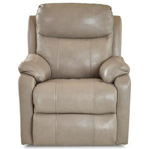 Casual Power Rocking Reclining Chair with USB Charging Port and Power Headrest