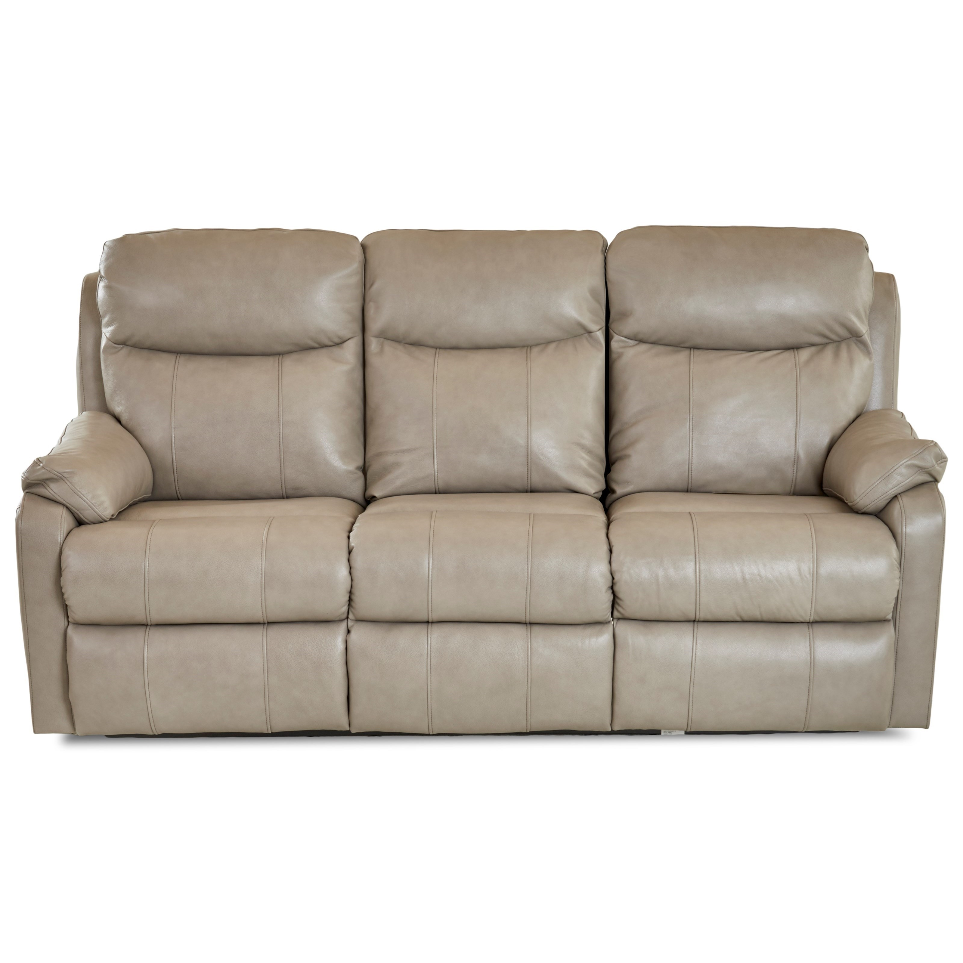 Solitaire Power Reclining Sofa by Klaussner at Stuckey Furniture