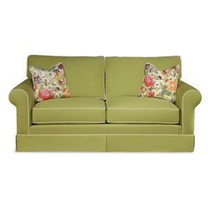 Klaussner Southern Shores Traditional Air Coil Sleeper Sofa