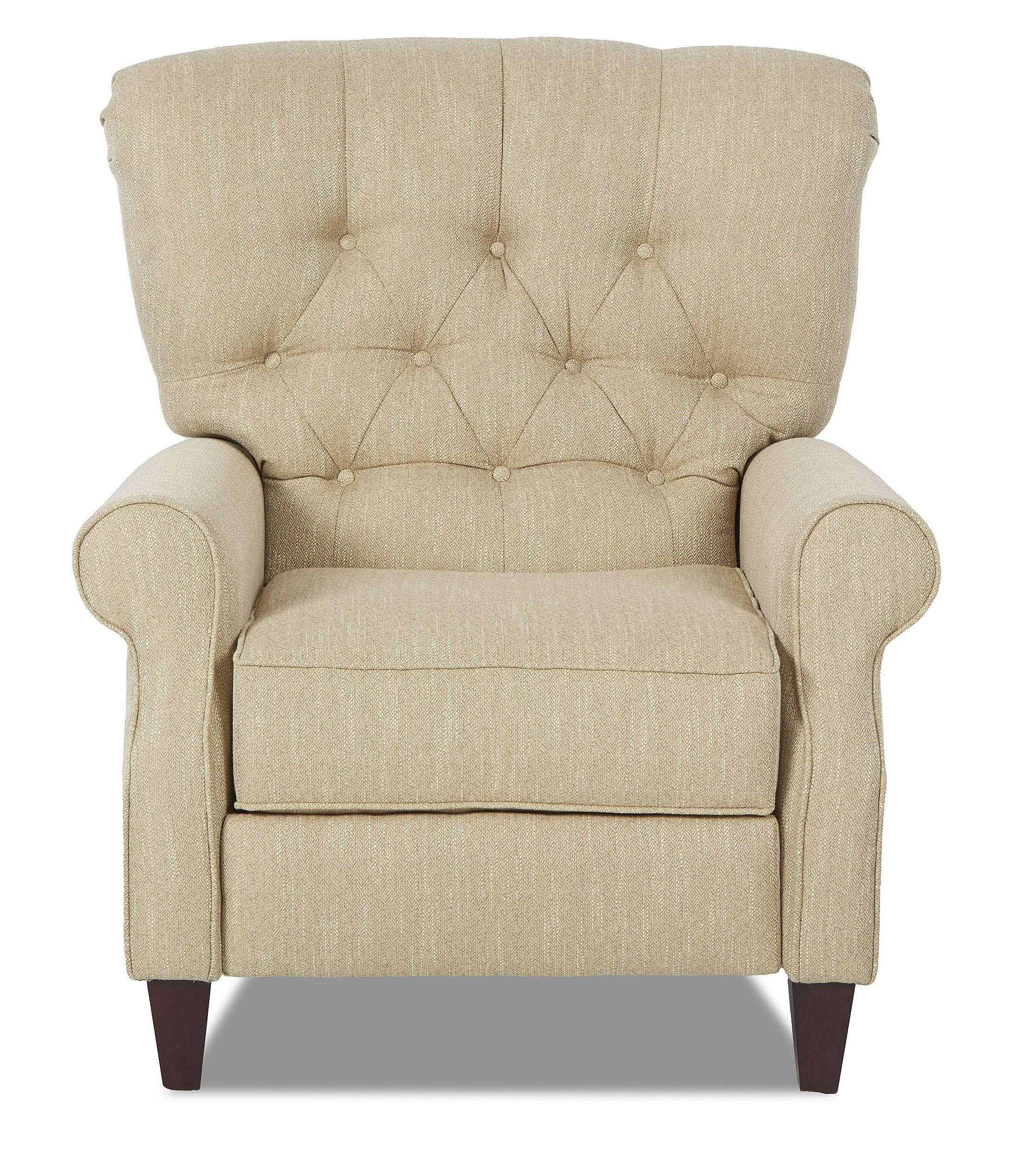 Strand Power High Leg Recliner by Klaussner at Catalog Outlet