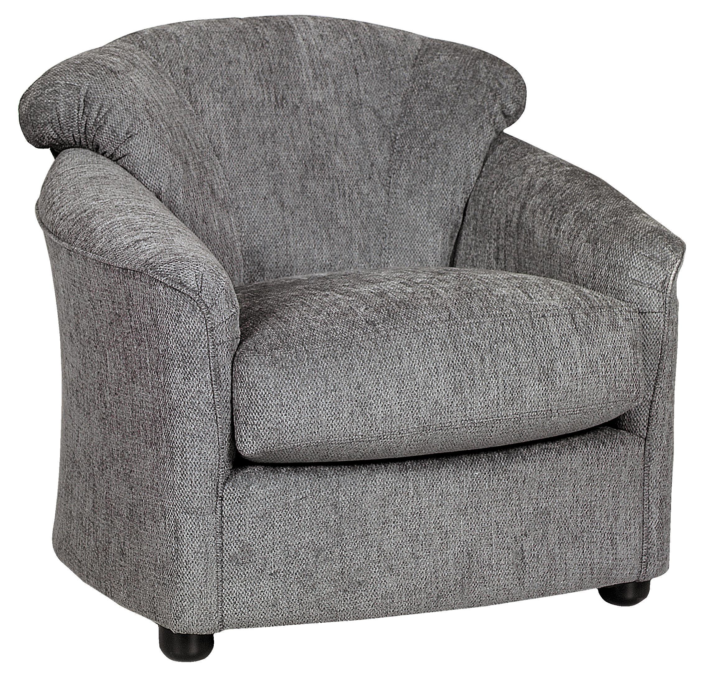 Swivel Upholstered Chair by Klaussner at Johnny Janosik