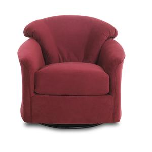 Klaussner Swivel Swivel Glide Chair