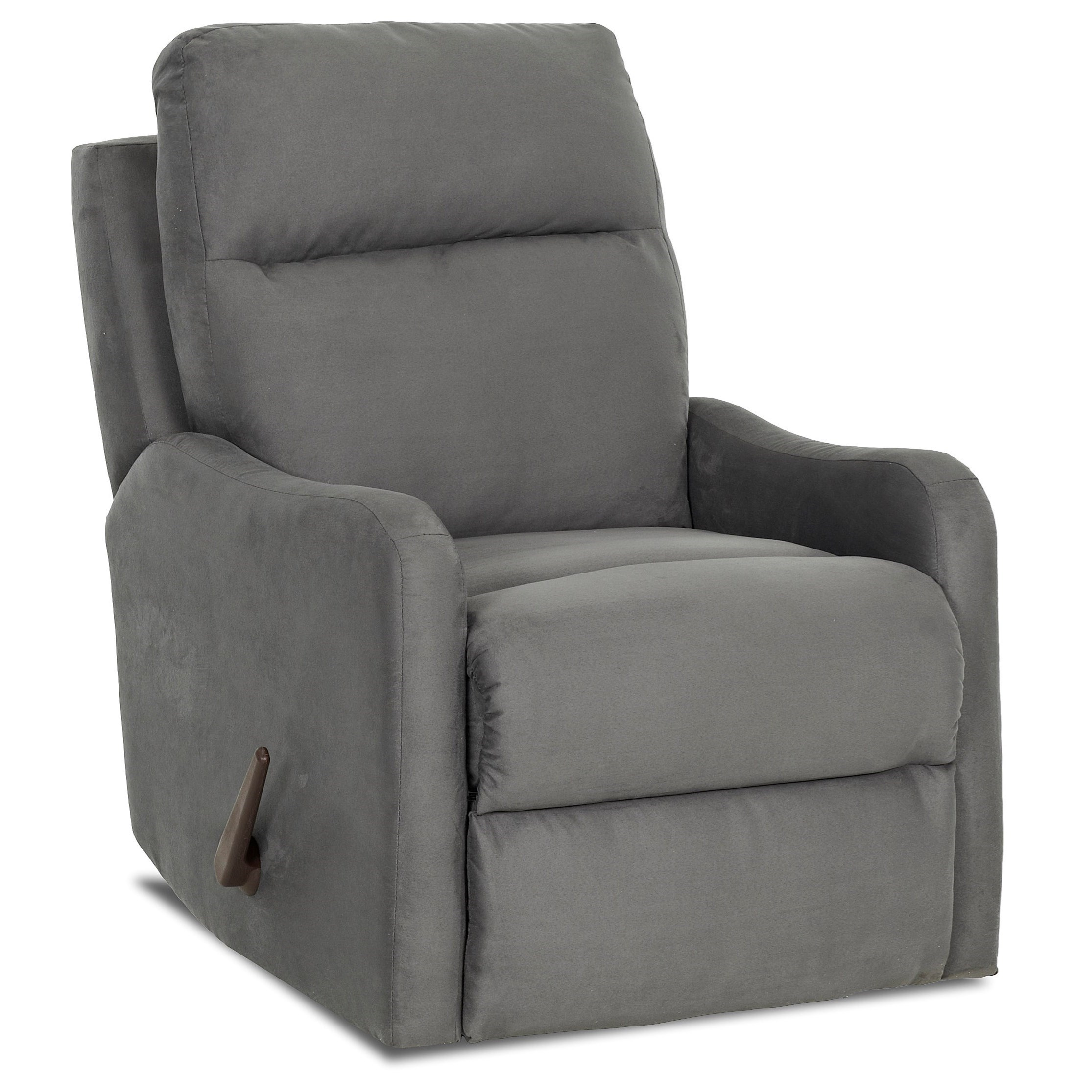Tacoma Power Swivel Gliding Recliner by Klaussner at Johnny Janosik