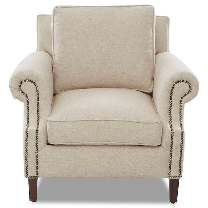 Theron Chair by Klaussner at Johnny Janosik